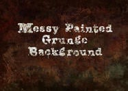 Messy Painted Grunge Background Texture
