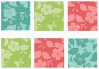 Big Floral Background Pack