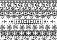Ornamental Border Brushes Pack
