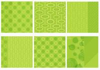Funky green background pack