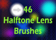 46 Halftone Lens Brushes
