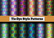 12 Tie-dye Patterns