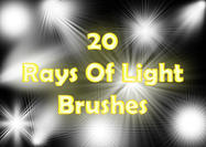 Rays of Light Brushes 2