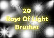 Rays-of-light-brushes-2