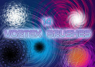 14 Vortex Spiral Brushes