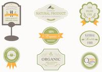 Organic Label Brushes Pack