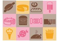 Various-food-brush-icons-pack-photoshop-brushes