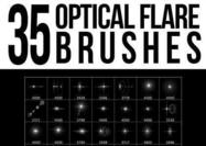 35 Cepillos optical flare