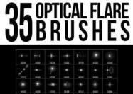 35 Optische Fackelbürsten