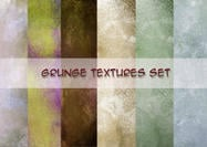 Grunge conjunto de texturas