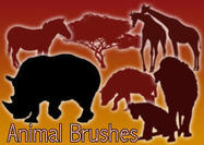 40 Animal Brushes