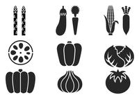 Summer Vegetable Brushes Pack
