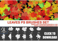 Ps-leaves-brushes-set