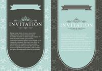 Vintage Invitation Template Pack