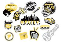 Urban Sticker PSD Pack