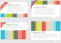 Colorful Abstract Design Background Elements