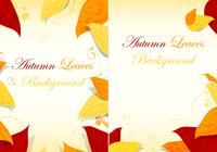 Fall Leaves Background PSD Pack