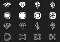 Diamond and Gem Brushes Pack
