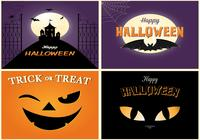 Griezelige Halloween Card PSD Pack