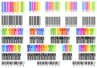 Sale Bar Code Brushes and PSD Pack