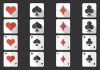 Playing Card Icon PSD Pack