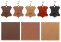 Leather Label PSD Pack