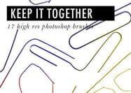 Keep-it-together-paper-clip-brushes