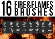 Fire & Flames Brushes