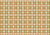 Söt Plaid Fall Pattern