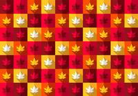 Bright Maple Leaf Pattern
