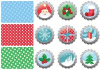 Kerstbontje Caps Brushes Pack