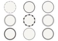 Simple Circular Frame Brushes Pack