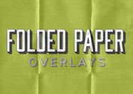 5 Folded Paper Texture Overlays