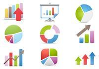 Gráficos e ícones de PSD de negócios