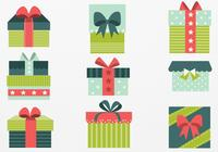 Retro Christmas Gift PSD Pack