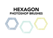 Hexagon-brushes
