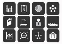 Business Pinsel Icons Pack