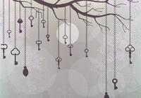 Snowy Hanging Keys Wallpaper Pack