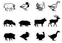 Farm-animal-brushes-silhouettes-pack