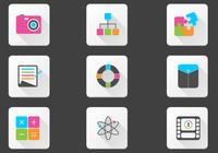 Bright Miscellaneous Icon PSD Pack