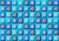 Seamless Winter Snowflake Pattern