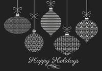 Pinceles Decorativos para Navidad y Paquete PSD