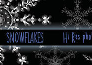 Hi Res Snowflake Brushes