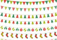 Christmas Bunting PSD Pack
