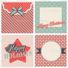 Retro Christmas Card PSD Pack