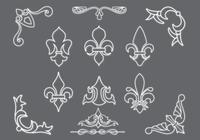 Fleur-de-lis-brushes-and-ornaments-pack