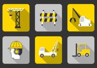 Construction Icon PSD Pack