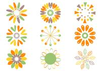 Retro-flower-brushes-pack