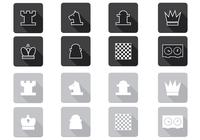 Schaakborstels en Icon PSD Pack