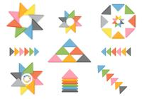 3DD Triangle PSD Pack